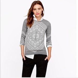 NEW! J. Crew Merino Scarf Sweater